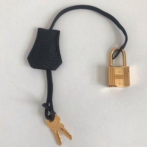 Hermès Clochette Lock & Keys
